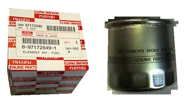 Fuel Filter For Isuzu Canal Boat Engines  U2013 Engines Plus